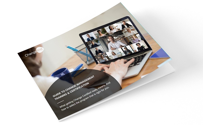 Comprehensive guide to Change Management Training and Certification2