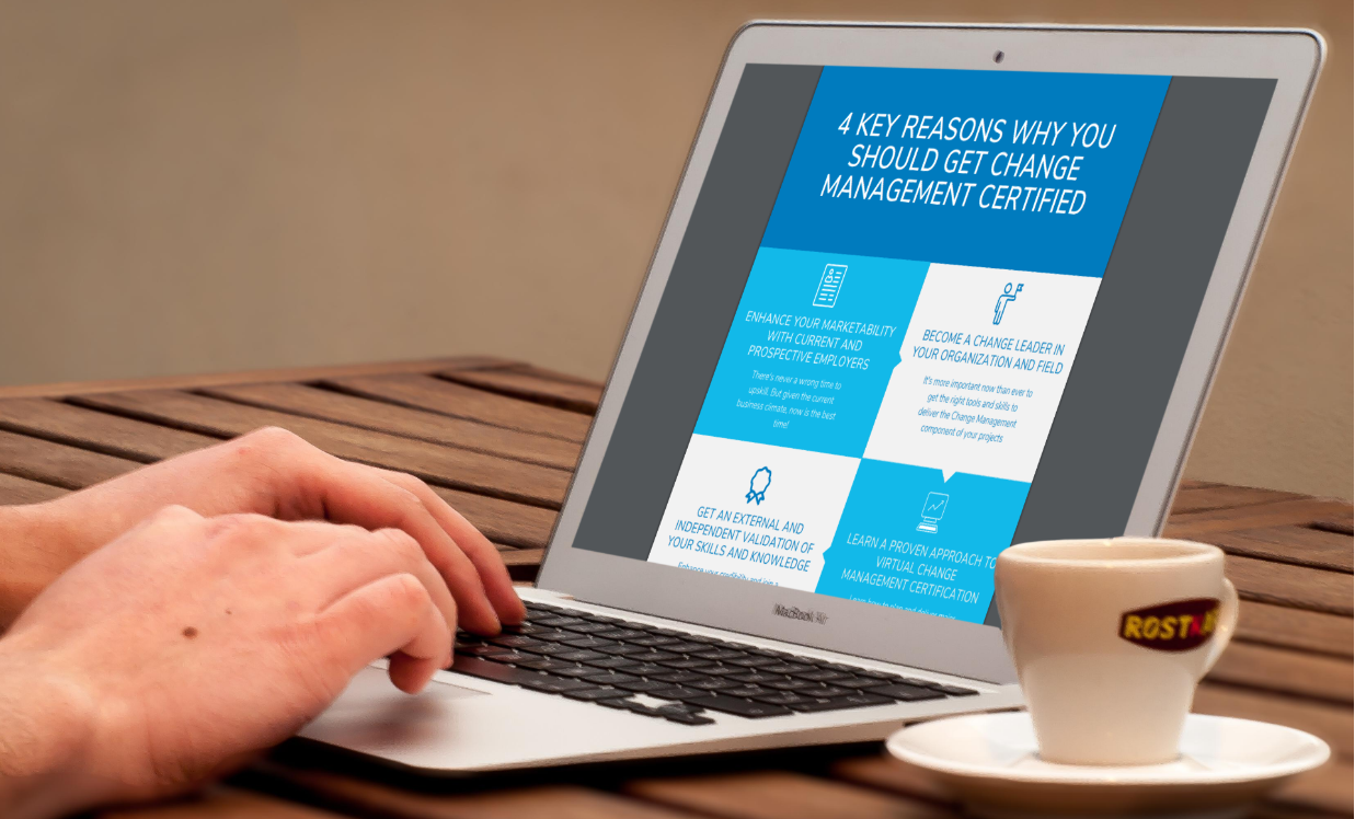 (Infographic) 4 Reasons to Get Change Management Trained and Certified Right Now